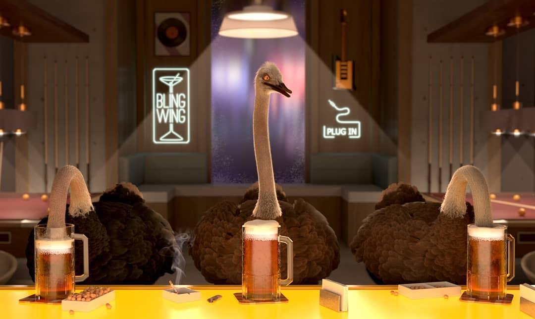 Fotogramma da The Ostrich Politi